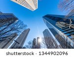 urban buildings and blue sky | Shutterstock . vector #1344902096