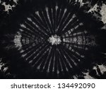 close up shot of tie dye fabric ... | Shutterstock . vector #134492090