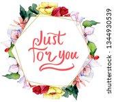 bouquets floral botanical... | Shutterstock . vector #1344930539