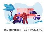 paramedic profession medical... | Shutterstock .eps vector #1344931640