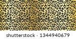 vector leopard background.... | Shutterstock .eps vector #1344940679
