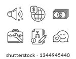 loud sound  payment and... | Shutterstock .eps vector #1344945440