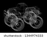 Monster Truck 3d Renderings