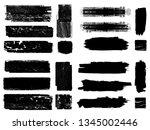 grunge paint roller . vector... | Shutterstock .eps vector #1345002446