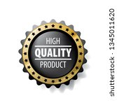 best quality product vector... | Shutterstock .eps vector #1345011620