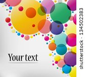 abstract colorful background   Shutterstock .eps vector #134502383