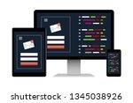 desktop computer  tablet and...