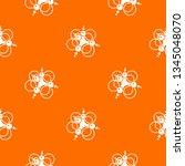 molecule connection pattern... | Shutterstock .eps vector #1345048070