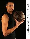 sport   basketball player... | Shutterstock . vector #134511164