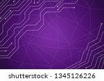 beautiful purple abstract... | Shutterstock . vector #1345126226