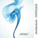 abstract smoke | Shutterstock .eps vector #134521616