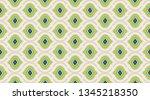 arabic pattern background. ... | Shutterstock .eps vector #1345218350