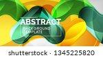 arrow background  modern style... | Shutterstock .eps vector #1345225820