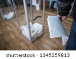 illustrative image of the... | Shutterstock . vector #1345259813