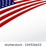 usa flag. united states flag... | Shutterstock .eps vector #134526623
