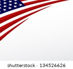 usa flag. united states flag... | Shutterstock .eps vector #134526626