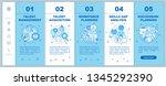 talent management onboarding... | Shutterstock .eps vector #1345292390