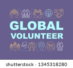 global volunteer word concepts...