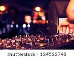 nightclub parties dj. sound... | Shutterstock . vector #134532743