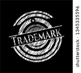 trademark written on a...   Shutterstock .eps vector #1345335596