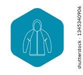 sweatshirt icon. outline...   Shutterstock .eps vector #1345340906