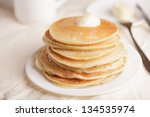 Pancakes With A Sour Cream