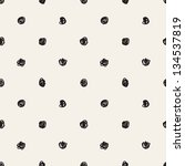 Seamless Pattern. Casual Polka...