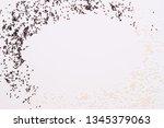 beautiful composition of black... | Shutterstock . vector #1345379063