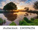 sunrise at dedham  john... | Shutterstock . vector #1345396256