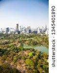high buildings panorama... | Shutterstock . vector #1345401890