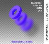 geometric shape. element for...   Shutterstock .eps vector #1345403426