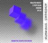 geometric shape. element for...   Shutterstock .eps vector #1345403429
