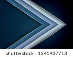 blue premium background with... | Shutterstock .eps vector #1345407713