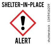 vector illustration of shelter...   Shutterstock .eps vector #1345416209