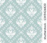 orient vector classic pattern....   Shutterstock .eps vector #1345426820