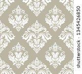 classic seamless vector pattern....   Shutterstock .eps vector #1345426850