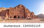 Palace Tomb. Petra  Jordan....