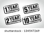 guarantee stamps | Shutterstock .eps vector #134547269