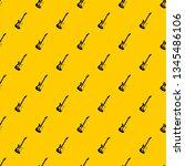 acoustic guitar pattern... | Shutterstock .eps vector #1345486106