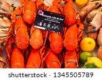 deauville  france   august 18... | Shutterstock . vector #1345505789
