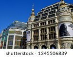 paris  france   september 30... | Shutterstock . vector #1345506839
