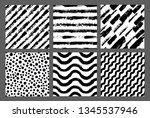 painted patterns. seamless... | Shutterstock .eps vector #1345537946