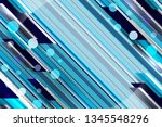 blue color abstract background... | Shutterstock .eps vector #1345548296