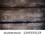 hieroglyph texture from egypt... | Shutterstock . vector #1345553129