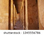 temple of queen hatsepsut in... | Shutterstock . vector #1345556786