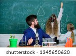 biology plays role in...   Shutterstock . vector #1345650620