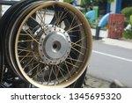 motorcycle wheel alloy | Shutterstock . vector #1345695320