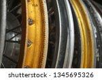motorcycle wheel alloy | Shutterstock . vector #1345695326