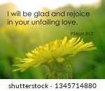 'i Will Be Glad And Rejoice In...