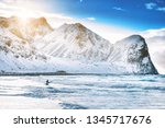 Surfing On Picturesque Arctic...
